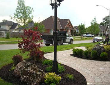 Front Entrance Landscaping Dunnville Niagara Hamilton Burlington St Anns